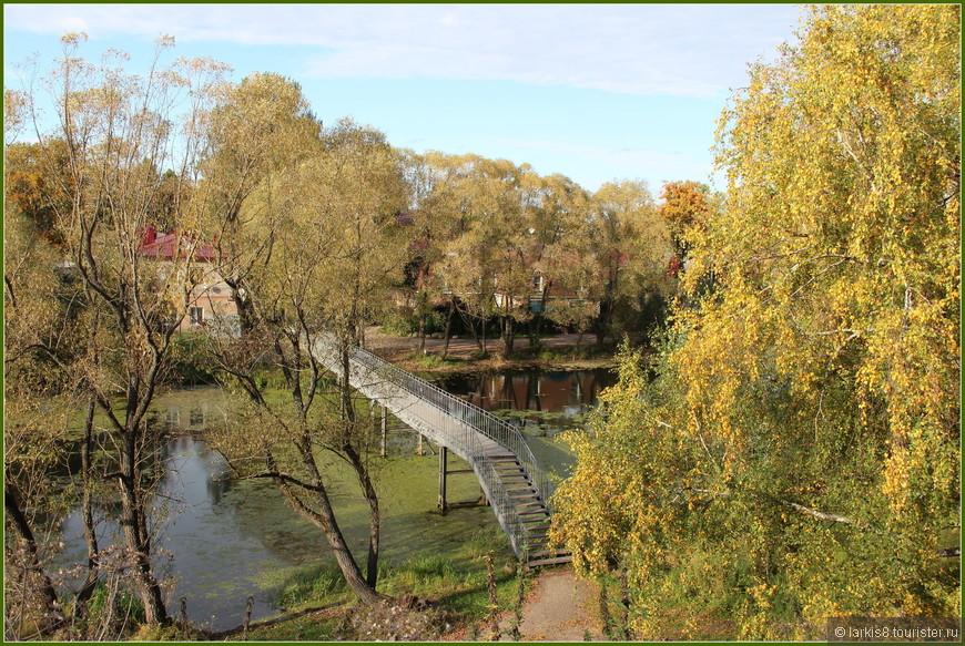 Мост через речку Трубеж.