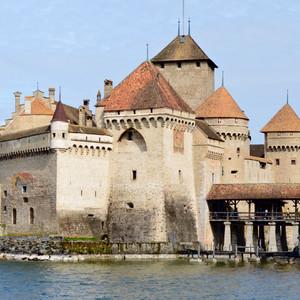 Монтрё и Шильонский замок