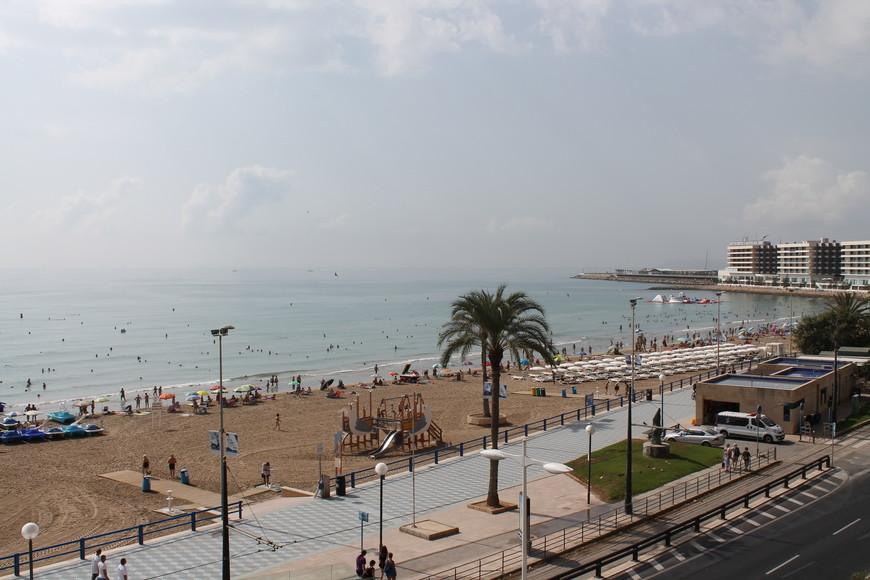 Центральный пляж Аликанте