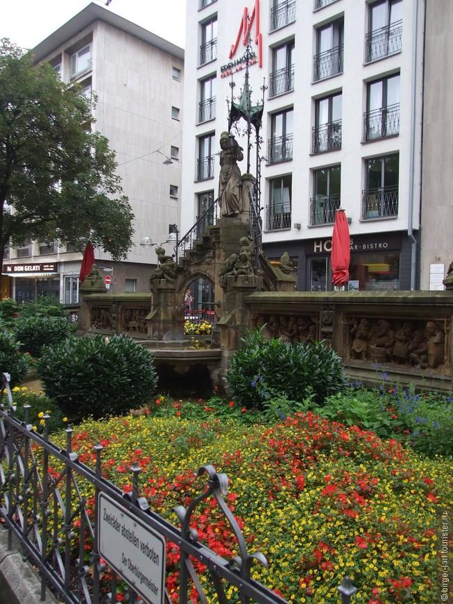 Heinzelmannenchenbrunnen.