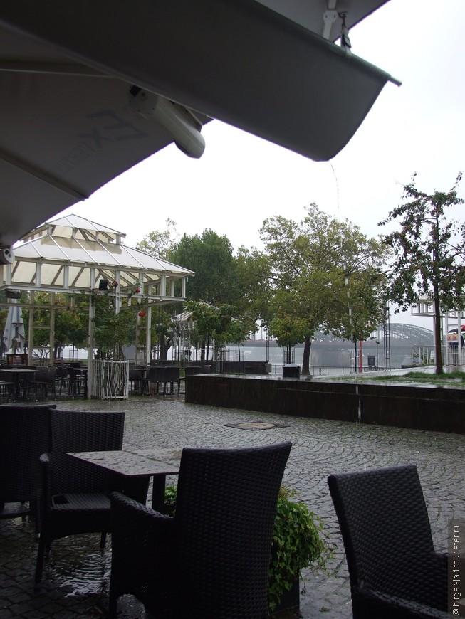 Дождливый день в Кёльне.