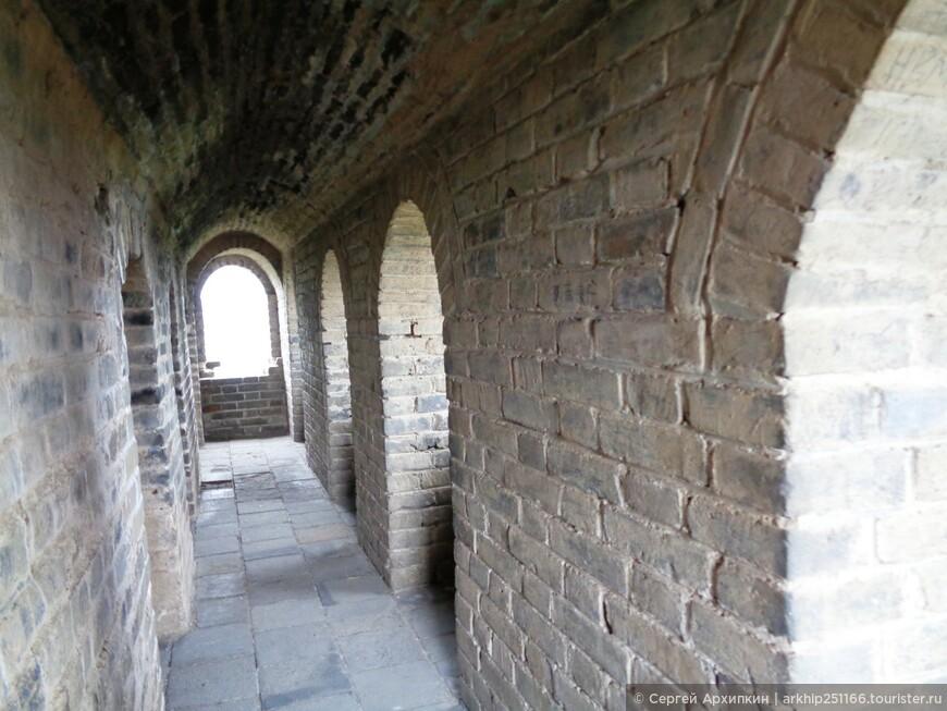 Башня на Великой Китайской стене в районе Мутяньюй