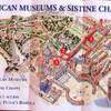 Карта государства Ватикан в миниатюре