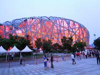 По Олимпийским объектам Пекина.
