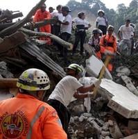 Число жертв оползня в Гватемале составляет более 130 человек