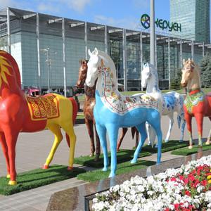 Необычные лошадки