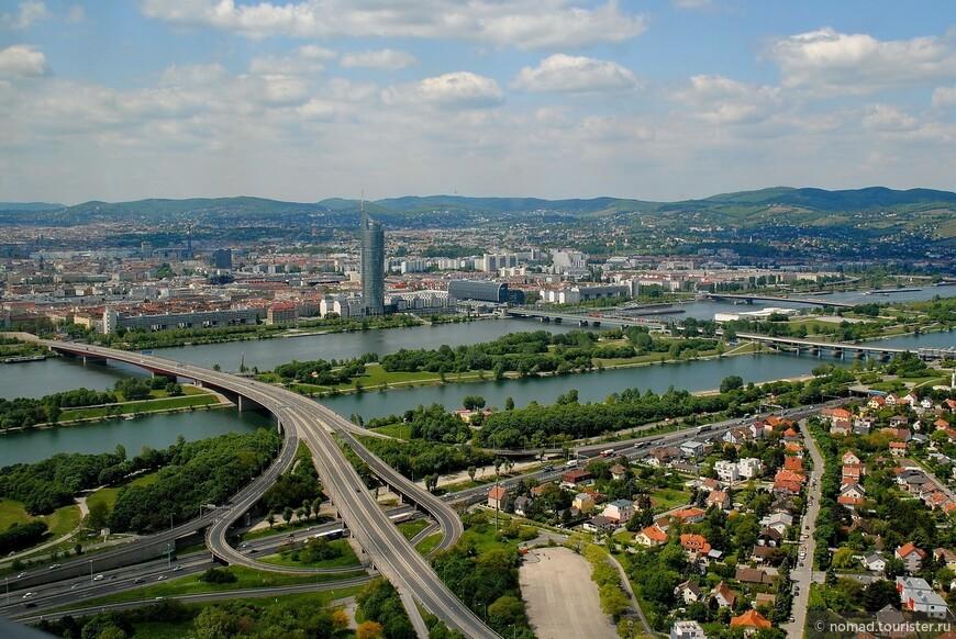 Вид с Дунайской башни