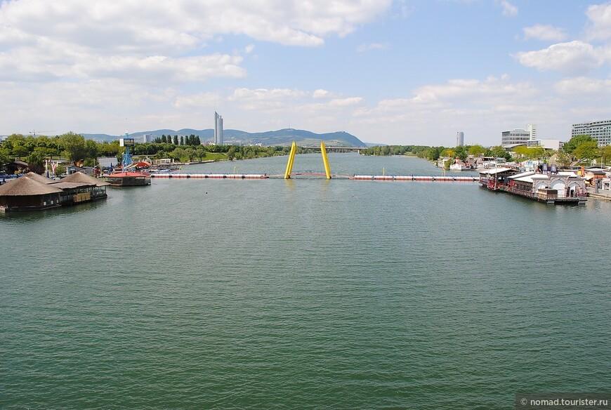 Переходим через Малый Дунай