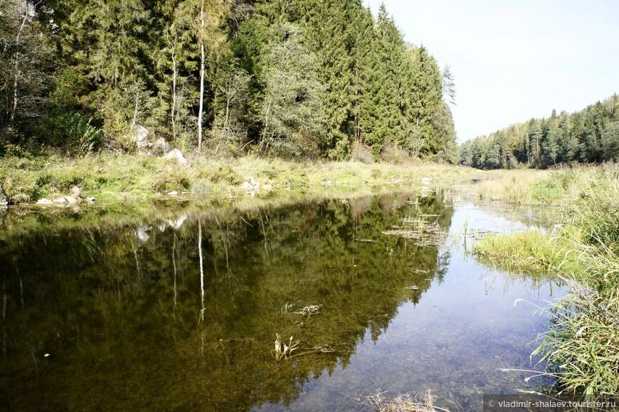 Купаться в Дёрже практически негде, река мелкая.