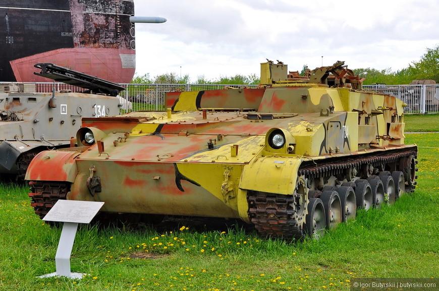 ГМЗ-2. Гусеничный минный заградитель
