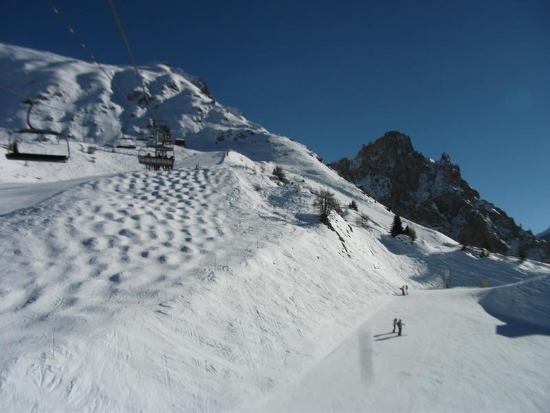 Горные лыжи — райское наслаждение