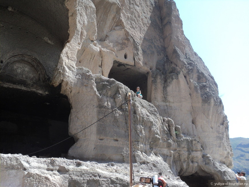 В пещерном городе интересно как детям, так и взрослым!