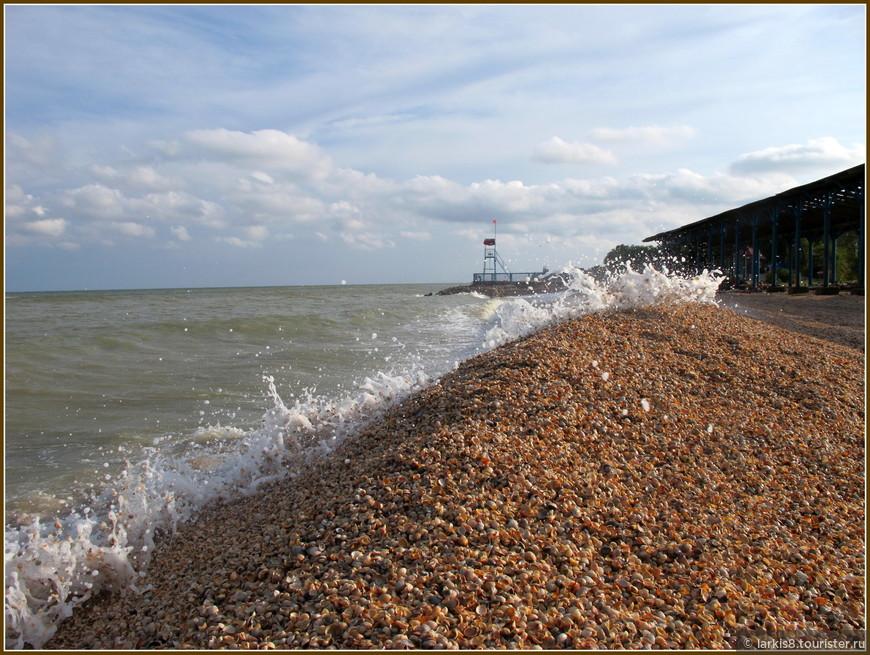 Море - живое и изменчивое. За годы, которые мы туда ездим, береговая линия менялась несколько раз. На месте, где был широченный пляж, на следующий год может плескаться море. Лежаки, годами стоявшие на металлических подставках под металлическими навесами, оказываются смытыми, вековая олива вырвана ветром, набережная размыта водой. А через год все возвращается на место. Так и этот мой любимый пляж. В какой-то год его вот так занесло горами ракушечника, а на следующий год мы опять загорали там на песочке!