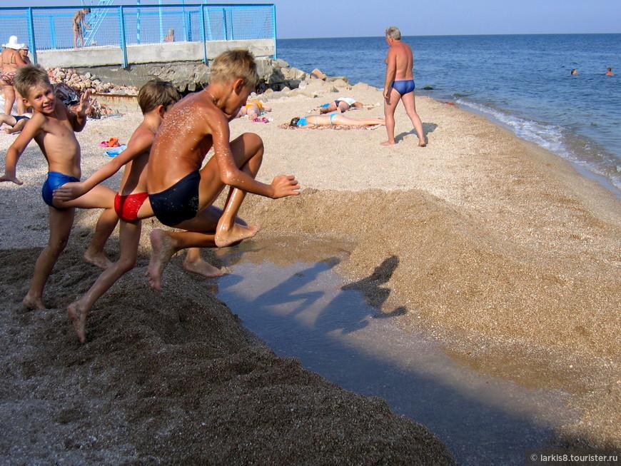 Детям на Азовском море раздолье и веселье!