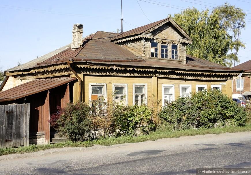 Дом на улице Ленина.