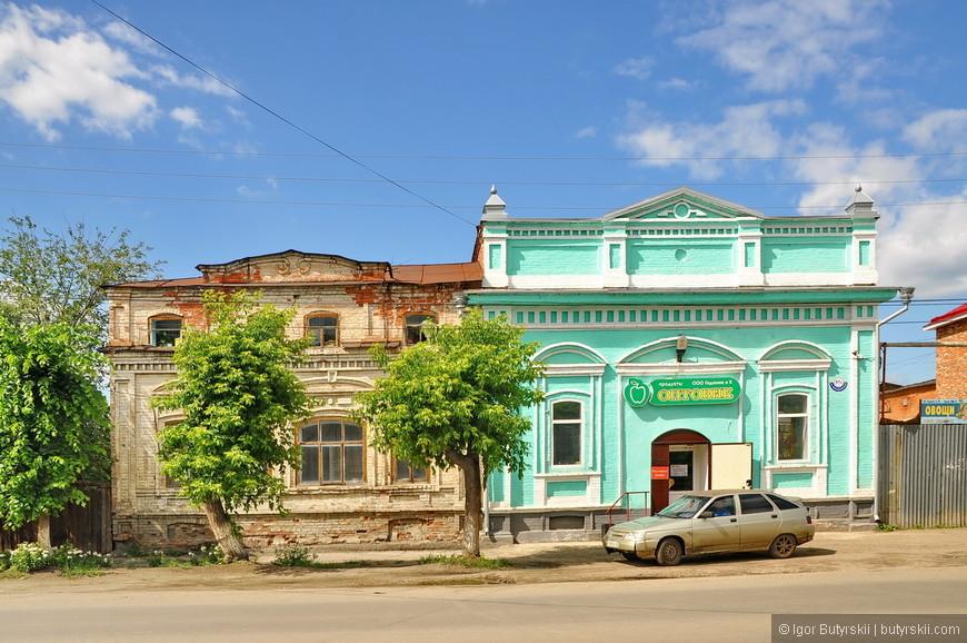 02. Городу больше 350 лет и он частично сохранился, многие здания даже восстанавливаются.