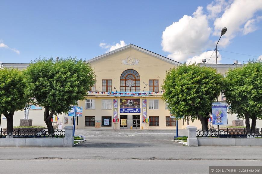 28. Советская скучная провинциальная архитектура дома культуры.