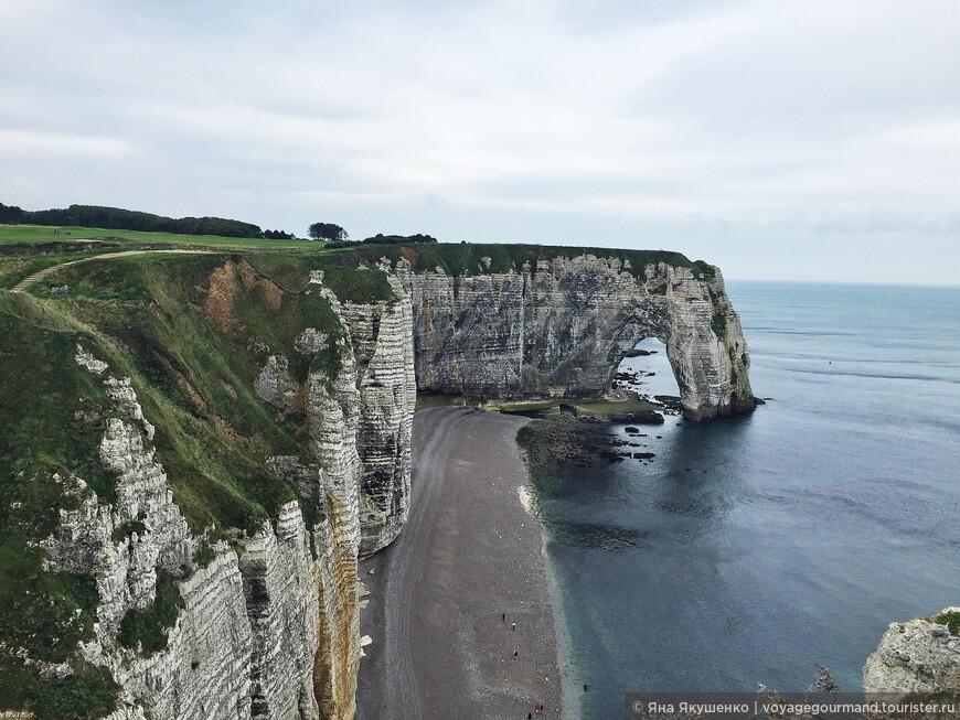 Меловые скалы в Нормандии