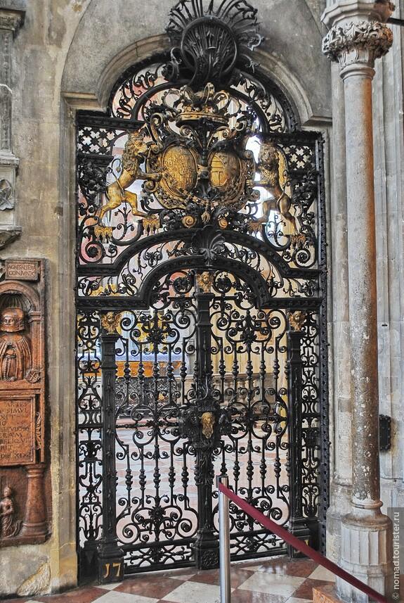 Шикарные ворота