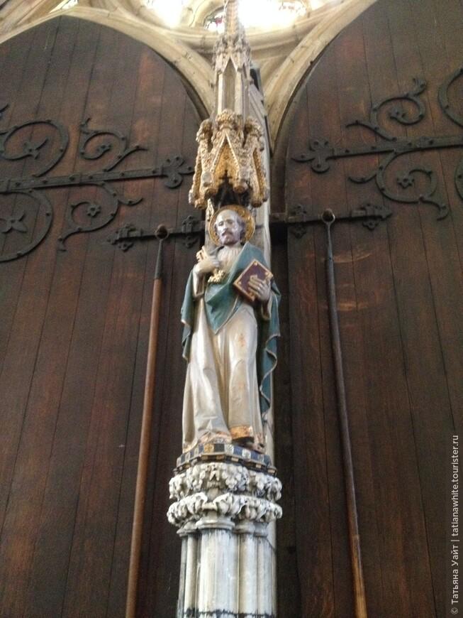 Апостол Пётр - святой покровитель Йоркминстера