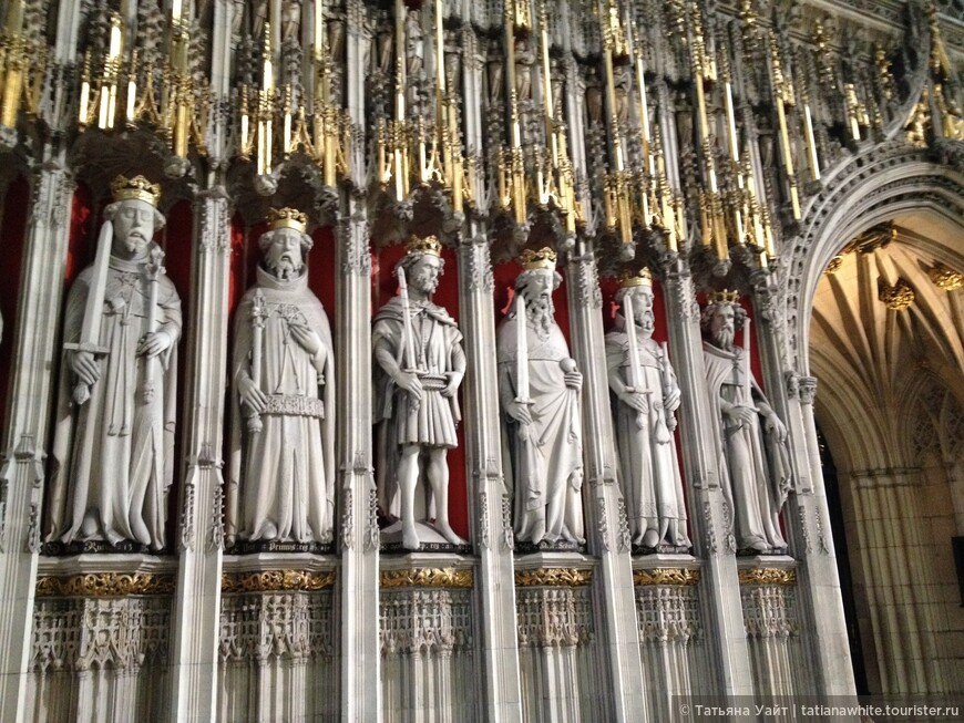 Ряд англо-саксонских королей в соборе