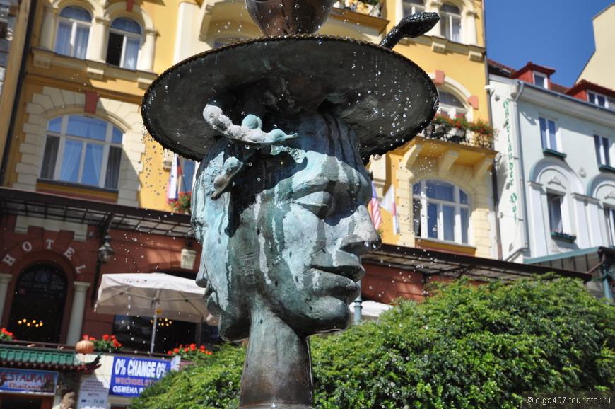 Плач фонтан в Карловых Варах