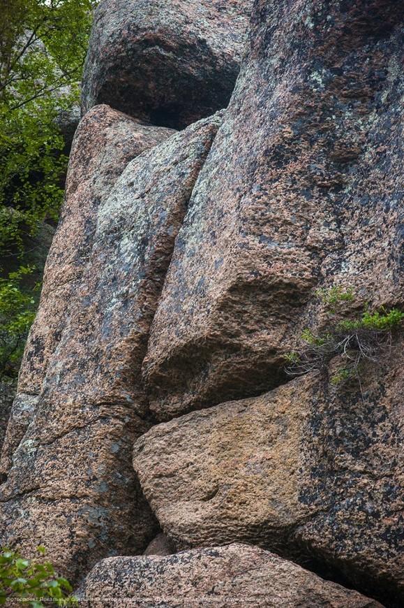 Каменный лик.