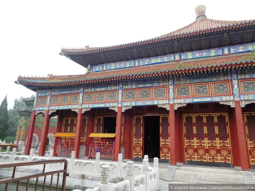 Императорские павильоны в парке Бэйхай