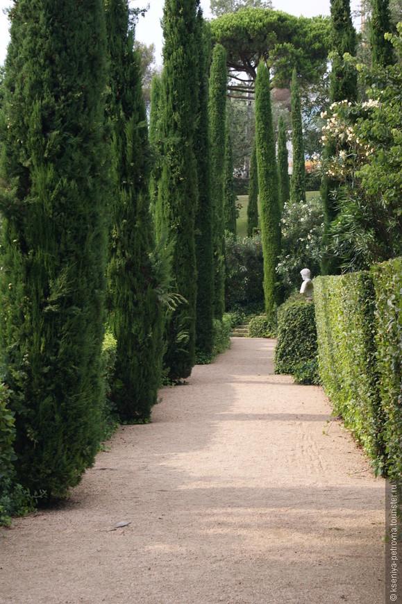 Сады Клотильды.