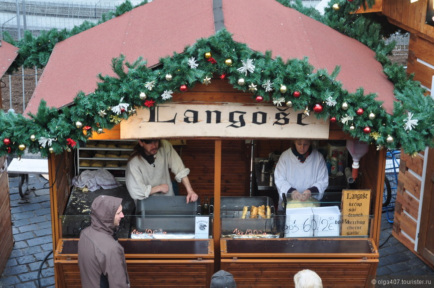 Рождественская ярмарка в Праге