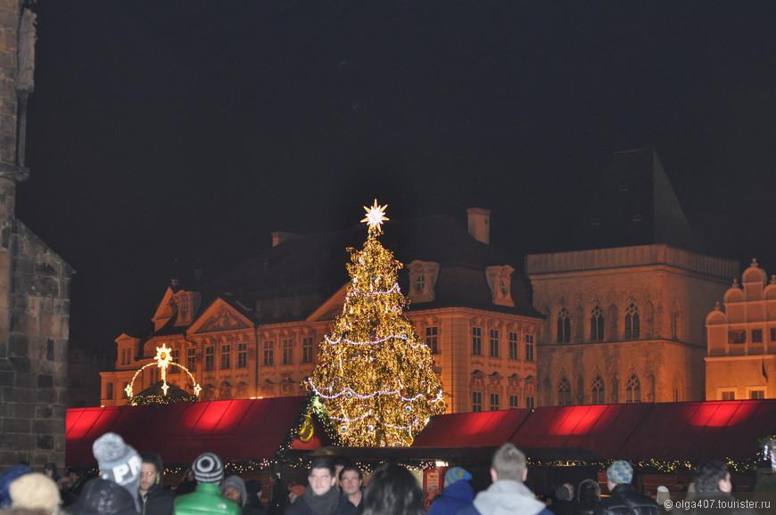 Вечерняя прогулка по Праге