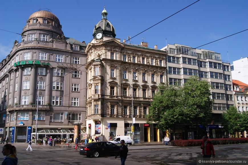 По дороге на Вацлавскую площадь