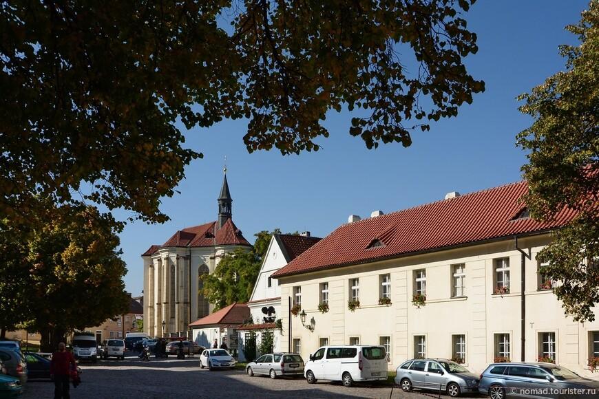Страговский монастырь, Костел Святого Роха