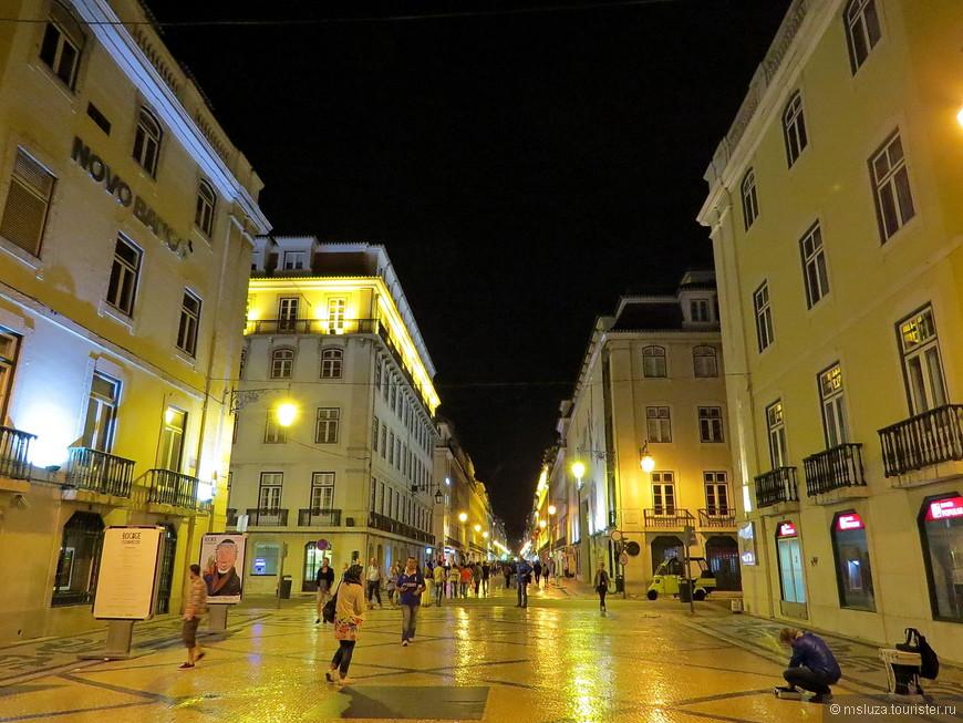 Главная прогулочная улица Rua Augusta