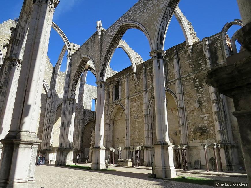Музей и монастырь Ду Карму . Памятник землетрясению , разрушившему город 1 ноября 1755 года .