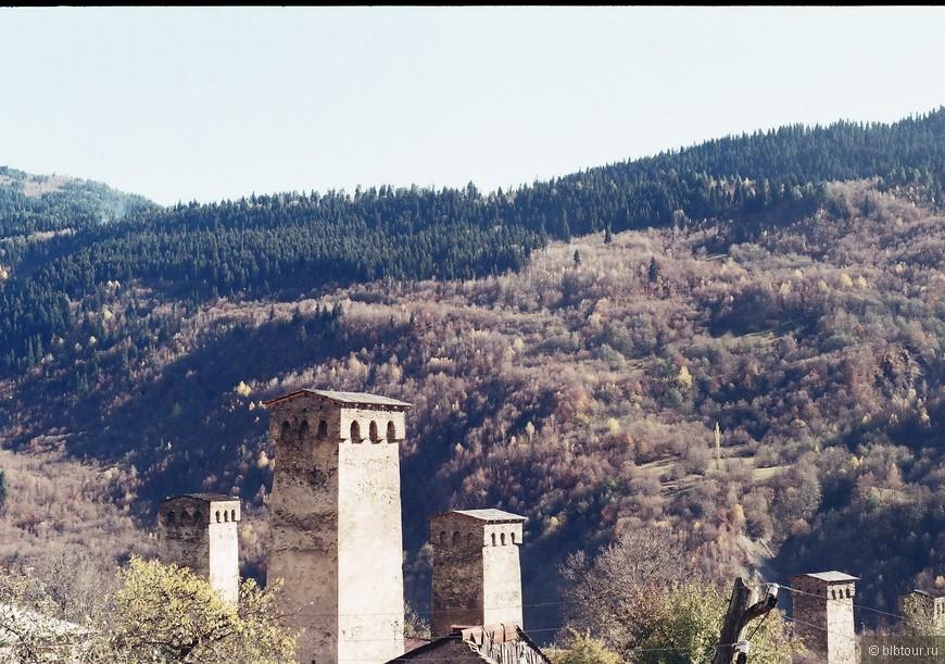 сванетинские башни