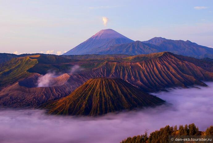 Прогулки по вулкану Бромо