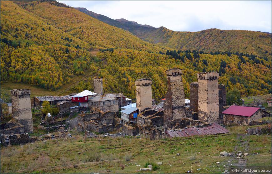 Сванские башни  в Ушгули.