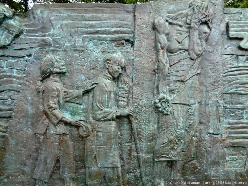 В Нанкинском мемориале геноцида