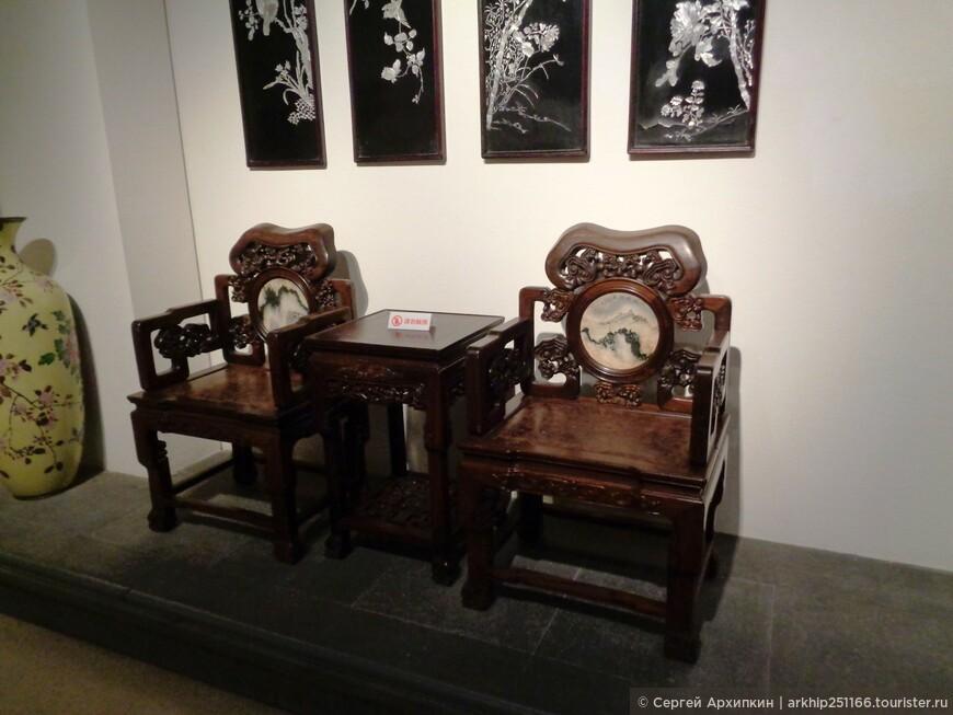 Китайская мебель 17 века