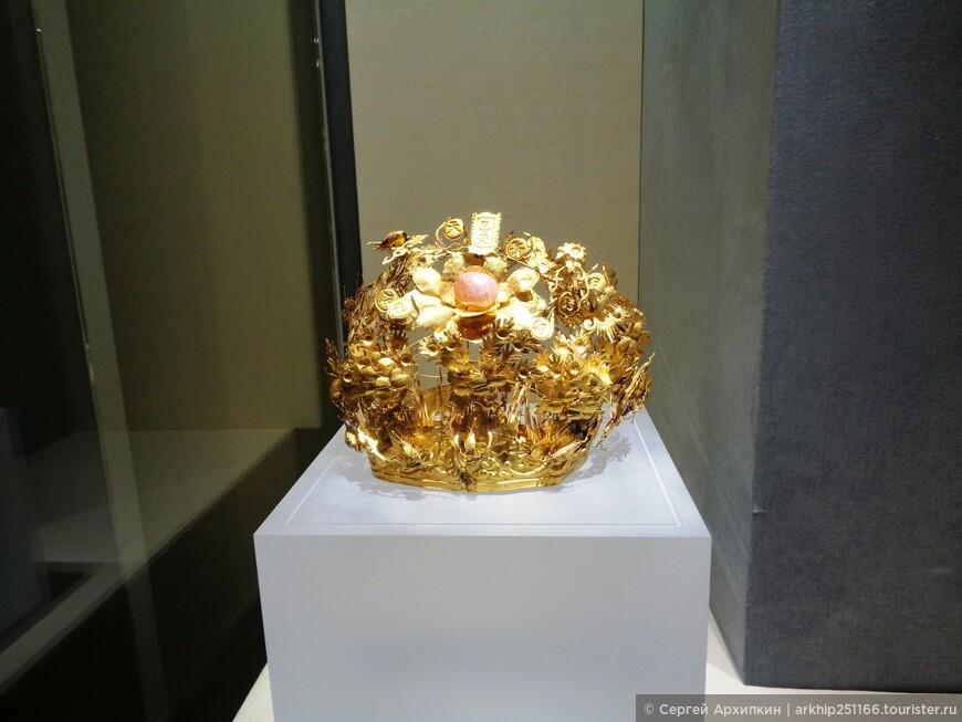 Древнекитайская корона