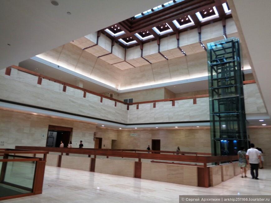 Музей расширяется - вот так выглядят новые холлы