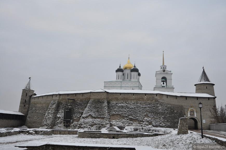 Сердце древнего Пскова, насчитывающего более тысячи лет истории, Псковский Кремль!