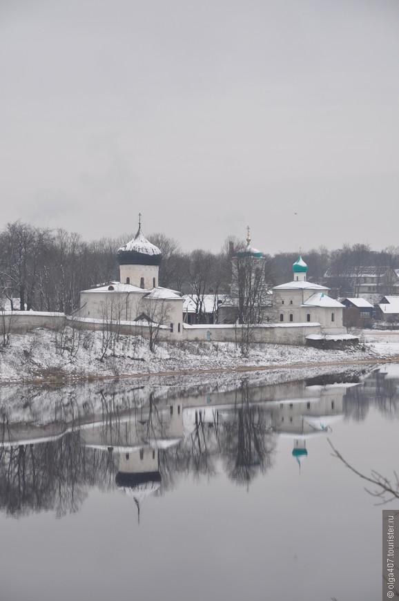Псковский Спасо-Мирожский мужской монастырь!