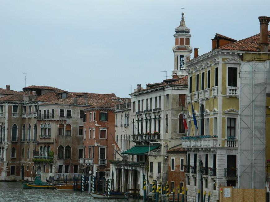 пасмурная Венеция не такая романтичная, но не менее интересная