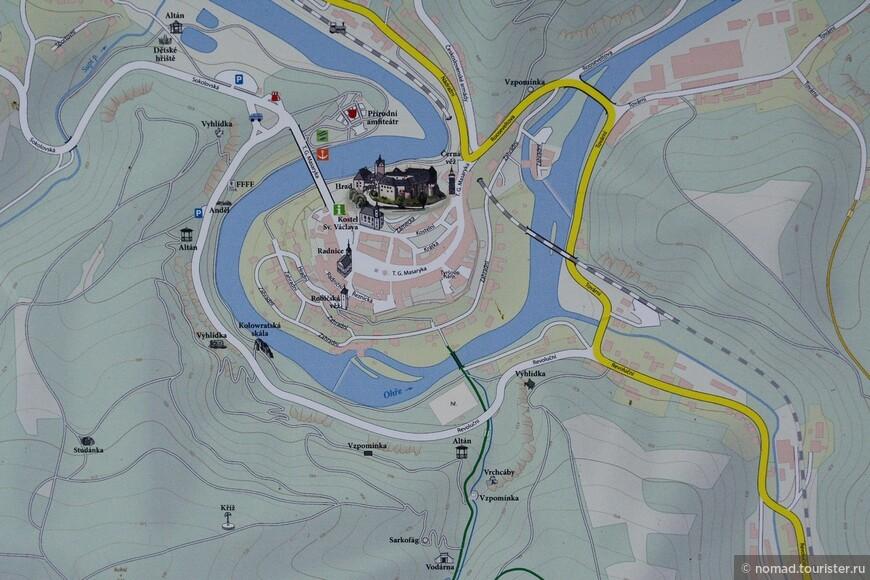 Схема Локета и окрестностей