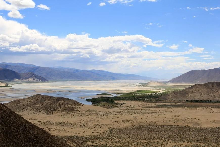 по пути в монастырь Самье, Шаньнань, Тибет