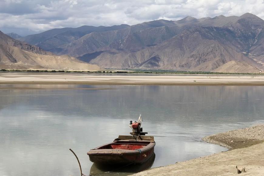 Брахмапутра, Шаньнань, Тибет