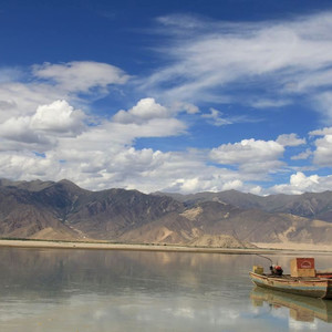 Пейзажи Шаньнань в Тибете