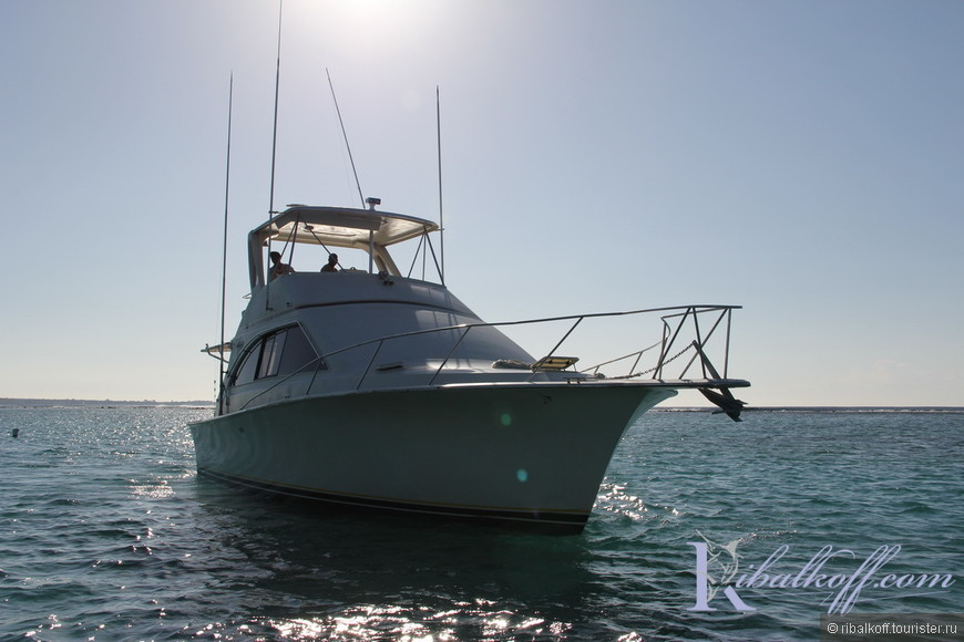 Яхта Фортуна для рыбалки и морских экскурсий.